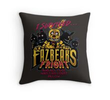Fazbear's Fright Throw Pillow