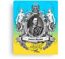 Hetman Ivan Stepanovych Mazepa Canvas Print