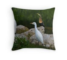 What's Over There? Throw Pillow