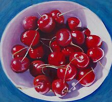 Luscious bowl of cherries by soniamattson
