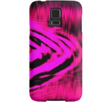 Electric Water - Neon Pink Samsung Galaxy Case/Skin
