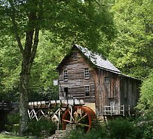 Glade Creek Grist Mill VIII by Lisawv