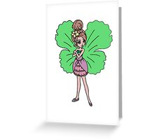 Barbie Mariposa Fairy Greeting Card