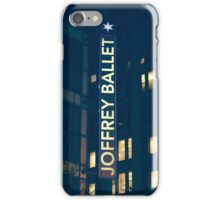 Joffrey Ballet Sign iPhone Case/Skin