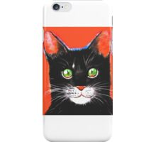 Animal Prints Cat iPhone Case/Skin