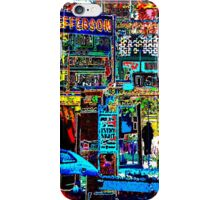 SOMEWHERE - City series iPhone Case/Skin