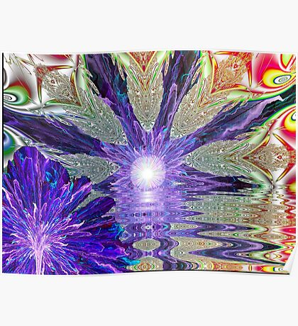 Wild Blossom Bedazzled Poster