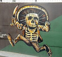 """Cinco de Mayo"" Mural - Aguascalientes, Mexico by Eleanor Wylie"