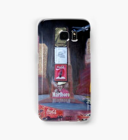 Times Square with Elvis Samsung Galaxy Case/Skin