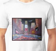 Times Square with Elvis Unisex T-Shirt