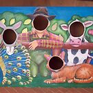 Farmer and his animals (Farm project) by Penny Hetherington