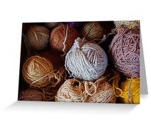 Knit Song Greeting Card