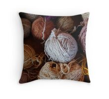 Knit Song Throw Pillow