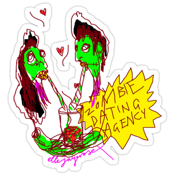 'Zombie Dating Agency' by ellejayerose