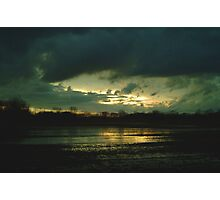 021109-24  SUNSET STORM Photographic Print
