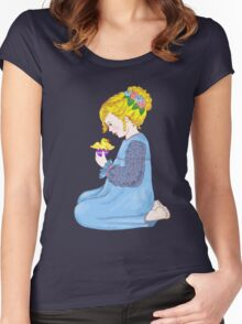 Easter Surprise Women's Fitted Scoop T-Shirt