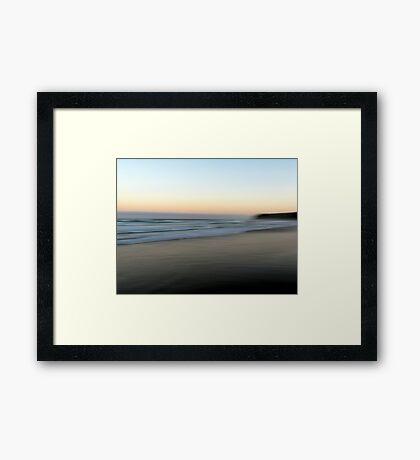Beach Impressions - South Framed Print