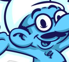 I'm Afraid I Just Smurfed Myself Sticker