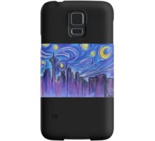 Starry Night Over Seattle Samsung Galaxy Case/Skin