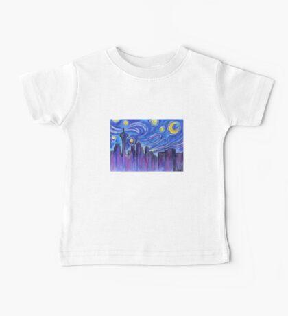 Starry Night Over Seattle Baby Tee