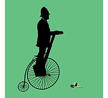 Bobby on a Segway-Penny-Farthing Photographic Print