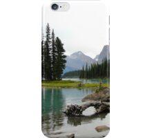 Maligne Lake in Canada iPhone Case/Skin