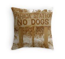 Pahaoa Station Throw Pillow