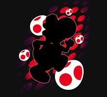 Super Smash Bros. Red Yoshi Silhouette Unisex T-Shirt