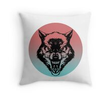 Wolf Radiant Throw Pillow