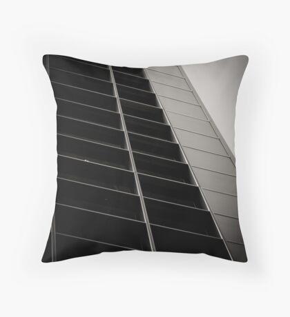 Corner Office Throw Pillow