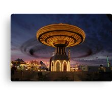 Twirling Away Canvas Print