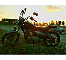 Lets go for a ride. Photographic Print