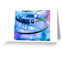 Water and Spring II Greeting Card