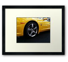 Transformers Chevy Camaro Framed Print