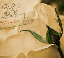 Roses for Easter by Celeste Mookherjee