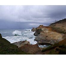 Raging Waves Photographic Print