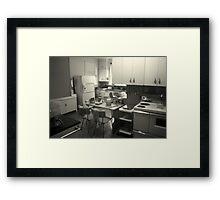 Nostalgic Kitchen Framed Print