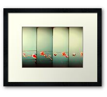 Sky Dragons Framed Print