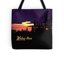 Kailua Kona Hawaii Sunset Tote Bag