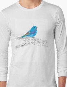 Bluebirds Fly Long Sleeve T-Shirt