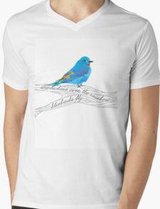 Bluebirds Fly Mens V-Neck T-Shirt