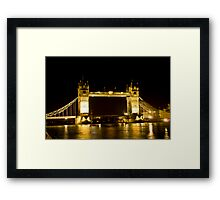 Early Morning view Tower of London Framed Print