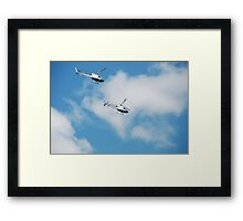 Australian Naval Helicopters Framed Print