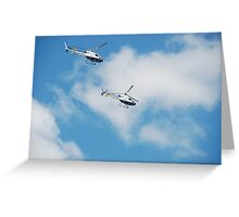 Australian Naval Helicopters Greeting Card
