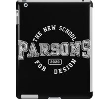 Parsons - the new school for design iPad Case/Skin