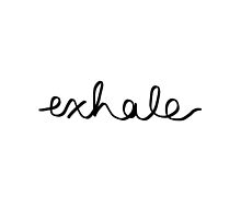 Exhale Black by juststickit
