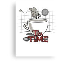 Tea Time - Adventure Time Canvas Print