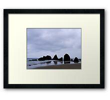 Rocky Spine Framed Print