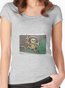 """""""Cinco de Mayo"""" Mural - Aguascalientes, Mexico Women's Fitted Scoop T-Shirt"""