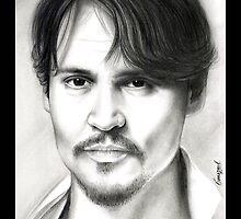 Johnny Depp  by emizaelmoura